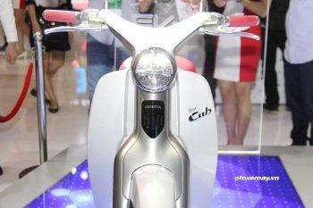 10 điểm hấp dẫn trên xe Honda EV Cub ở Sài Gòn
