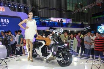 """Các hãng xe """"ngụ ý"""" gì qua những mẫu Concept tại Triển lãm xe máy Việt Nam"""