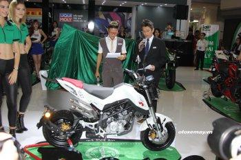 """Benelli bất ngờ tung 2 mẫu xe """"hàng độc"""" trong ngày cuối triển lãm xe máy tại Sài Gòn"""