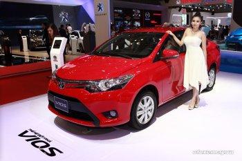 Vios tiếp tục là mẫu xe bán chạy nhất của Toyotas