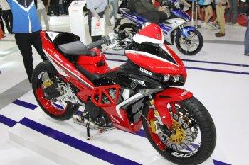 Bật mí Yamaha Exciter 150 độ chính hãng trưng bày tại Sài Gòn