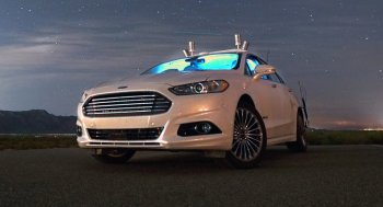 Xe Ford Fusion đi đêm không cần đèn