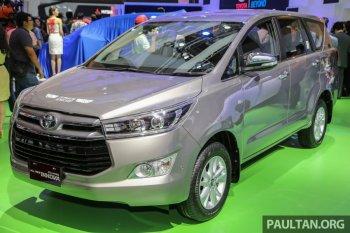 Phiên bản cao cấp nhất Toyota Innova Q 2016 ra mắt tại Indonesia