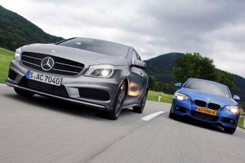 Mercedes tăng trưởng gấp đôi BMW