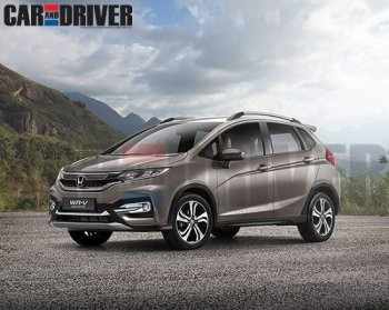 Honda sắp tung mẫu crossover cỡ nhỏ mới WR-V
