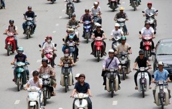 Phí đường bộ đối với xe máy chính thức được dỡ bỏ