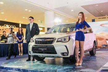 Subaru Forester 2016 ra mắt thị trường Việt, giá từ 1,445 tỷ đồng