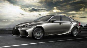Lexus IS thay đổi để tăng sức cạnh tranh với Audi A4