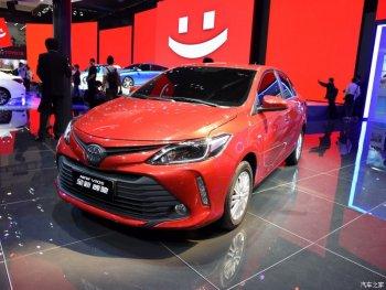 Phiên bản nâng cấp Toyota Vios 2016 ra mắt tại Trung Quốc