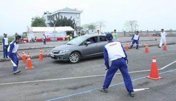 HDV Honda thi tài lái xe an toàn với CSGT