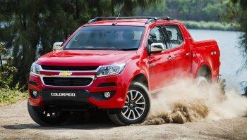 Chevrolet Colorado 2017 bất ngờ ra mắt tại Thái Lan
