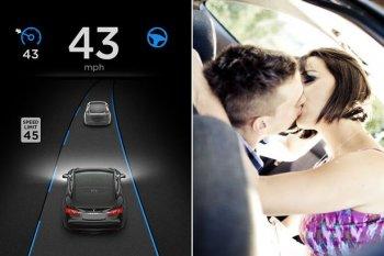 """Xe tự lái có thể làm tăng hành động """"yêu đương"""""""
