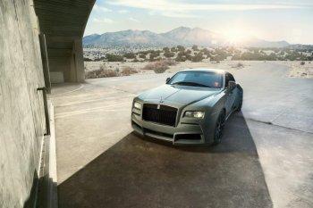 "Rolls-Royce Wraith Coupe ""độ"" vỏ khủng"