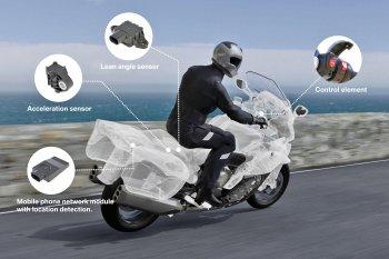 BMW phát minh công nghệ cứu hộ khẩn cấp cho mô tô