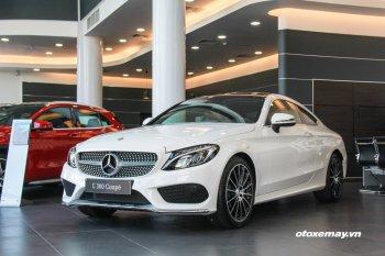 Mercedes-Benz C300 Coupe 2016 tại Việt Nam có giá 2,669 tỷ đồng