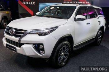 Toyota Fortuner 2016 sắp về đến Việt Nam