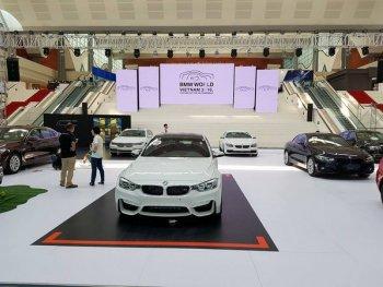 Hơn 100 siêu phẩm xuất hiện tại Triển lãm BMW World Vietnam 2016