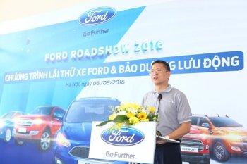 Ford đưa xe đi xuyên Việt mời lái thử