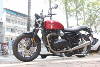 5 yếu tố khiến biker Việt thích mô tô Triumph Street Twin 2016