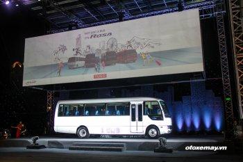 FUSO Việt Nam ra mắt 4 phiên bản xe bus cao cấp giá 1,2 tỷ đồng