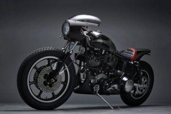 Harley Shovelhead chiếc cafe racer quái đản