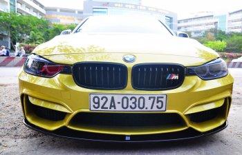 """BMW 320i """"dát vàng"""" đẹp lạ với nhà độ xe quận 7"""