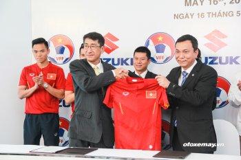 Suzuki đồng hành cùng các đội tuyển bóng đá quốc gia Việt Nam