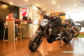 """Khám phá """"quái thú"""" Ducati Monster 1200R 2016 đầu tiên tại Việt Nam"""