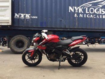 """Kawasaki Bajaj NS 200 2016 """"đặt chân"""" đến Việt Nam, giá 78 triệu"""