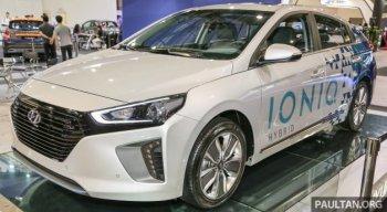 Hyundai Ioniq Hybrid cho thị trường Đông Nam Á trình làng