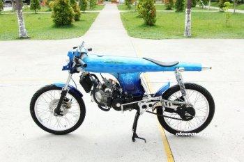 """Honda 67 huyền thoại thành phiên bản """"Ngư lôi"""" dưới tay thợ Việt"""