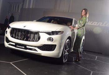 Maserati công bố giá bán chiếc SUV đầu tiên Levante