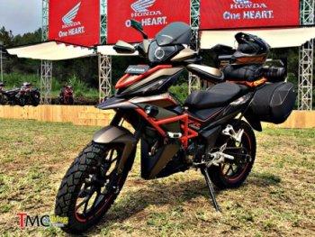Phiên bản độ Adventure của Honda Winner tại Indonesia