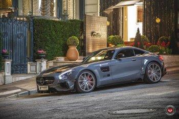 "Mercedes-AMG GT S ""hoa lệ"" sau khi qua tay Prior-Design"