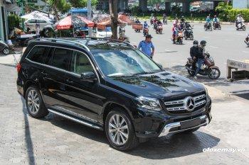 """Mercedes-Benz GLS400 4MATIC 2017: """"S-Class trong phân khúc SUV"""" có mặt tại Việt Nam"""