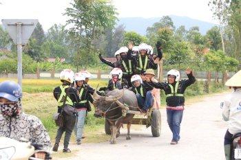 Hội phượt Exciter xuyên Việt xả stress trên đường thiên lý