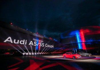 Audi đồng loạt giới thiệu A5 Coupe và S5 Coupe 2017