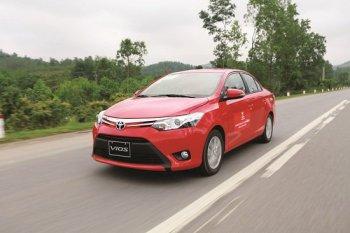 Doanh số bán tháng 5/2016 của Toyota Việt Nam tăng nhẹ