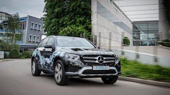 Mercedes GLC F-CELL: xe pin nhiên liệu plug-in hybrid đầu tiên trên thế giới