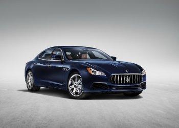 Maserati Quattroporte thế hệ mới được nâng cấp nhẹ