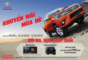 Toyota bắt đầu khuyến mại xe Hilux