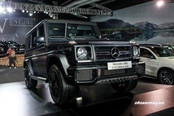 """Mercedes-AMG G 63 Edition 463 """"đại bàng"""" tại triển lãm SUVenture"""