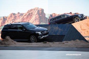 Mercedes-Benz biểu diễn Off-road tại Mỹ Đình