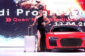 Trình diễn Rimowa hàng hiệu tại Audi Progressive