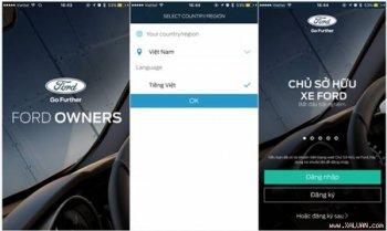 Ford Việt Nam tặng khách hàng phần mềm di động quản lý xe