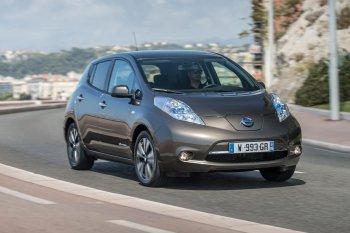 Nissan Leaf tăng gấp đôi phạm vi hoạt động