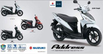 639 xe tay ga Suzuki Address 100 bị triệu hồi tại Việt Nam