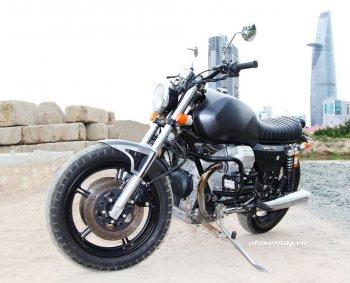 Bất ngờ mô tô cổ dáng ngon Moto Guzzi giá chỉ 100 triệu đồng