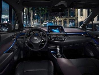Chi tiết nội thất của Toyota C-HR