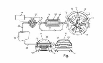 Lốp xe ôtô sẽ sớm có hệ thống làm mát riêng